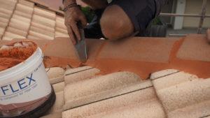 Roof Tile Repairs Brisbane - Capping - Strongguard