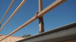 Brisbane southside roof painting set up safety rails prepare your roof