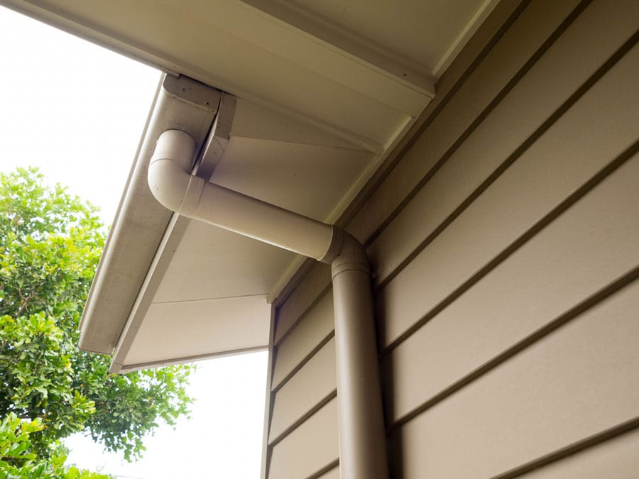 Sunshine Coast gutter replacement connect downpipes securely to stormwater system