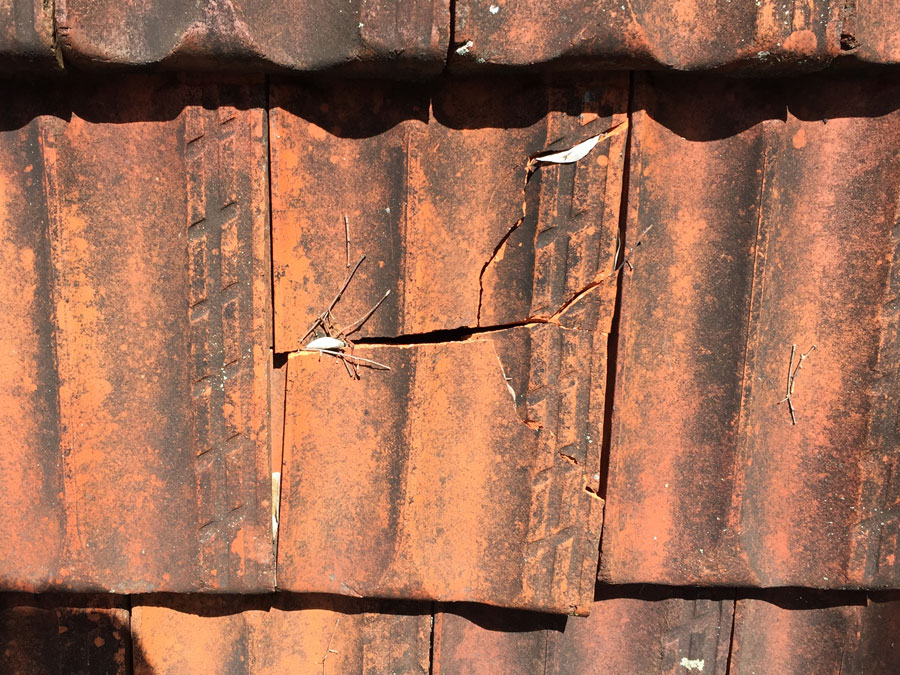 Sunshine Coast roof tile restoration remove broken tiles