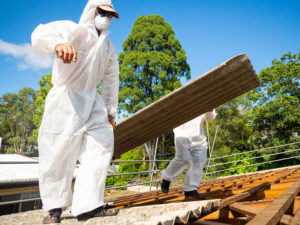 Sunshine Coast asbestos roof removal remove ensure safety