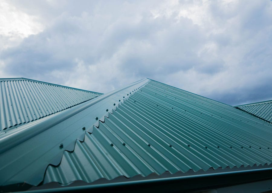Sunshine Coast metal roofing installation clean site