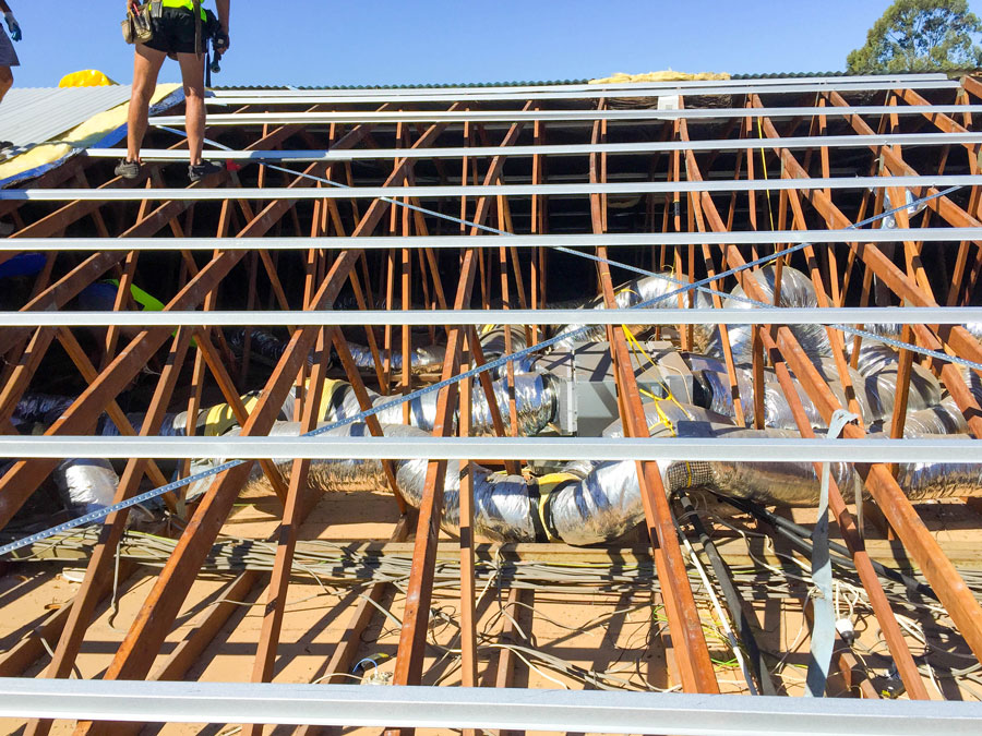 Brisbane tile roofing supply new metal battens check underlying structure