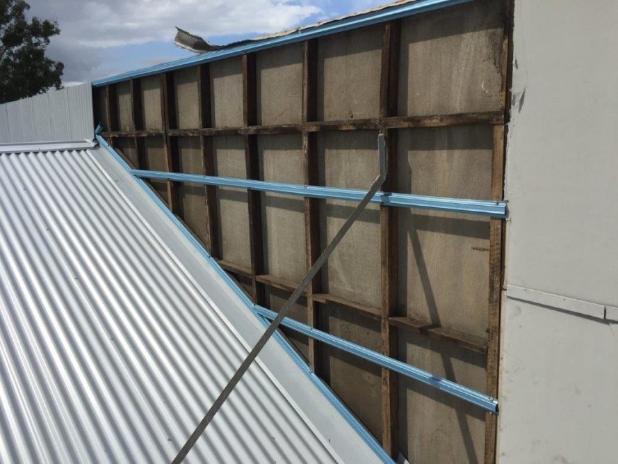 Re Roof Industrial Shed Plus Fuel Station Canopy Strongguard